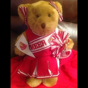 Authentic Build A Bear Cheerleader